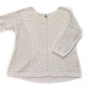 Old Navy • Open Knit Sweater